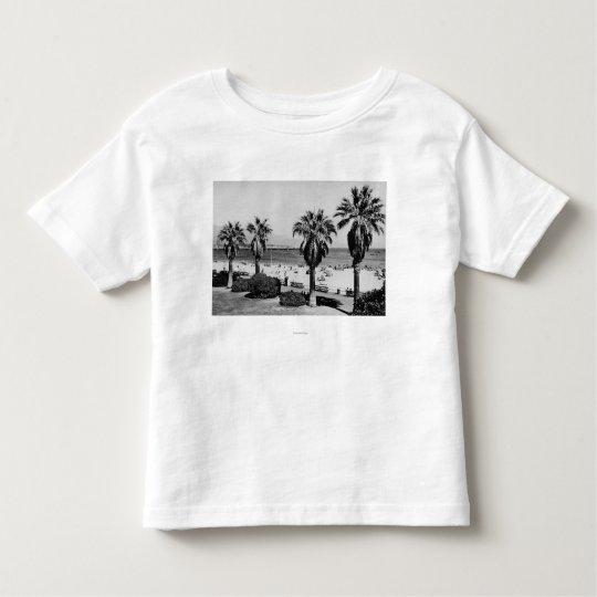 Santa Barbara, CA West Beach View Photograph Toddler T-shirt