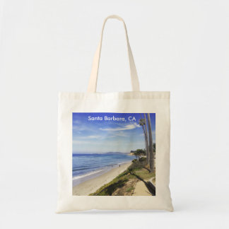 Santa Barbara California Butterfly Beach Montecito Tote Bag
