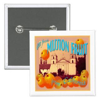 Santa Barbara California Button