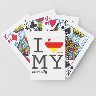 Santa Barbara California I love my own city Bicycle Playing Cards