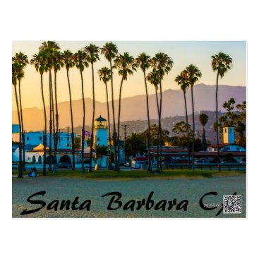 Santa_Barbara_Store SANTA BARBARA CALIFORNIA ON THE BEACH POSTCARD