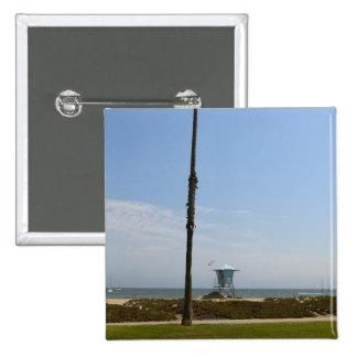 Santa Barbara, California Pinback Button