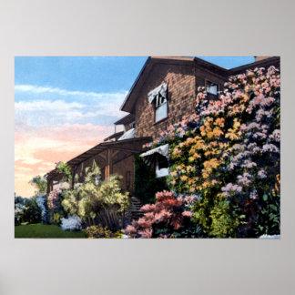 Santa Barbara California Residence Print