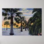 Santa Barbara California Seaside Boulevard Print