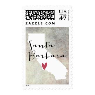 Santa Barbara, California Sellos Postales