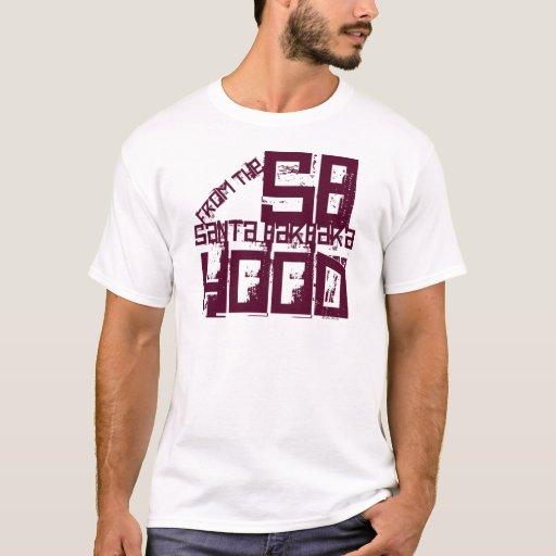 Santa barbara california t shirt zazzle for T shirt printing santa barbara