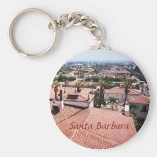 Santa Barbara Keychain