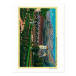 Santa Barbara Mission and Grounds Post Card