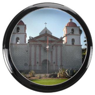 Santa Barbara Mission Aquarium Clocks