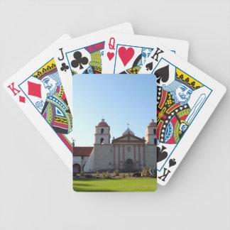 Santa Barbara Mission Bicycle Playing Cards