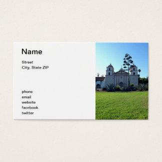 Santa Barbara Mission Business Card