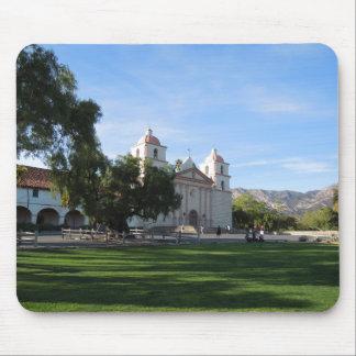 Santa Barbara Mission, California Mouse Pad