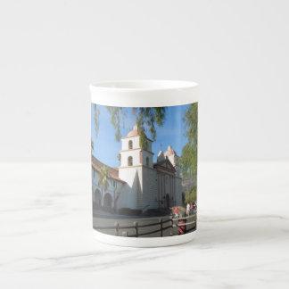 Santa Barbara Mission, California Tea Cup