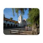 Santa Barbara Mission, California Vinyl Magnet