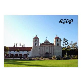 Santa Barbara Mission Card