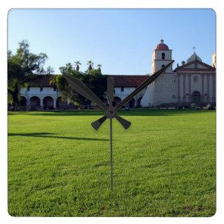 Santa Barbara Mission Clock