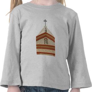 Santa Barbara Mission Cross T Shirt