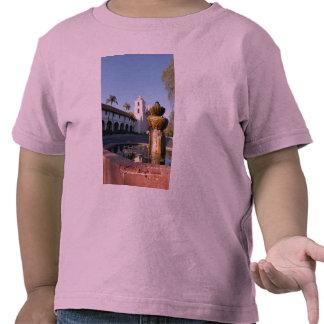 Santa Barbara Mission Fountain T-shirt