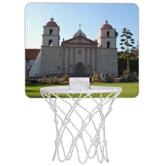 Santa Barbara Mission Mini Basketball Hoops