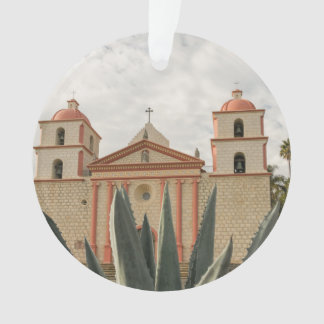 Santa Barbara Mission Ornament