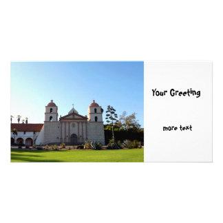 Santa Barbara Mission Photo Card