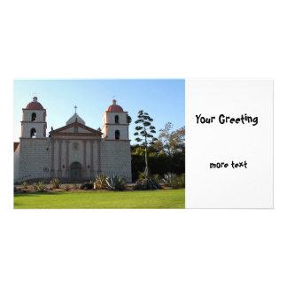 Santa Barbara Mission Photo Greeting Card