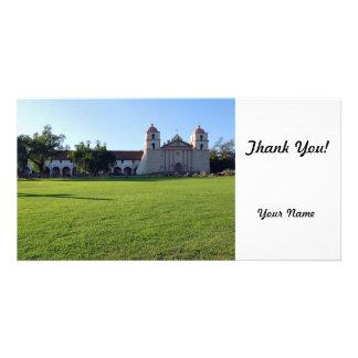 Santa Barbara Mission Picture Card