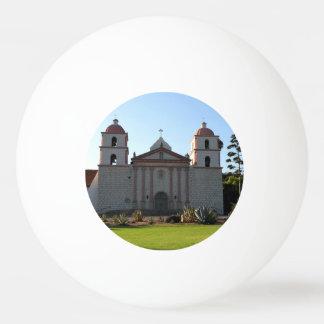 Santa Barbara Mission Ping Pong Ball