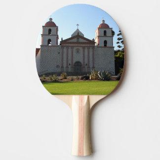 Santa Barbara Mission Ping-Pong Paddle
