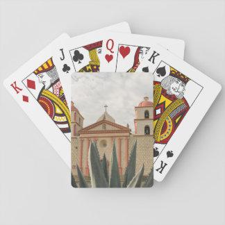 Santa Barbara Mission Playing Cards