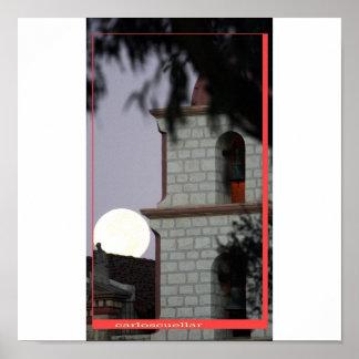 santa barbara mission poster