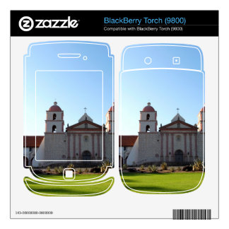 Santa Barbara Mission BlackBerry Skins