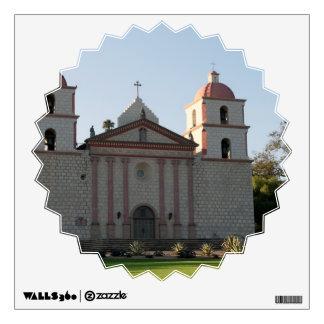 Santa Barbara Mission Wall Decal