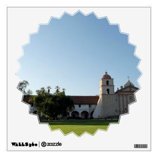Santa Barbara Mission Wall Sticker