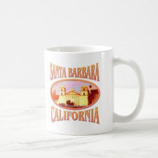Santa Barbara Classic White Coffee Mug