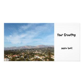 Santa Barbara Customized Photo Card
