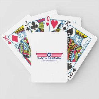 Santa Barbara Pride Bicycle Playing Cards