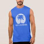 Santa Barbara retro Camiseta Sin Mangas
