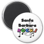Santa Barbara Rocks Magnets