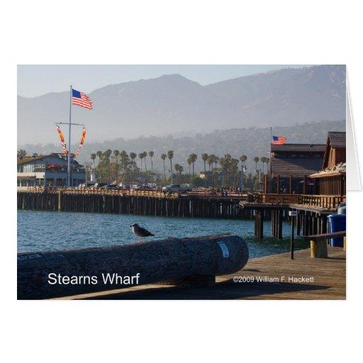 Santa Barbara Stearns Wharf Products Card