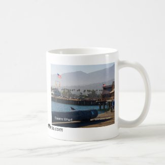 Santa Barbara Stearns Wharf Products Coffee Mug