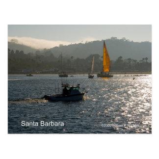 Santa Barbara Sunset Products, California Postcard