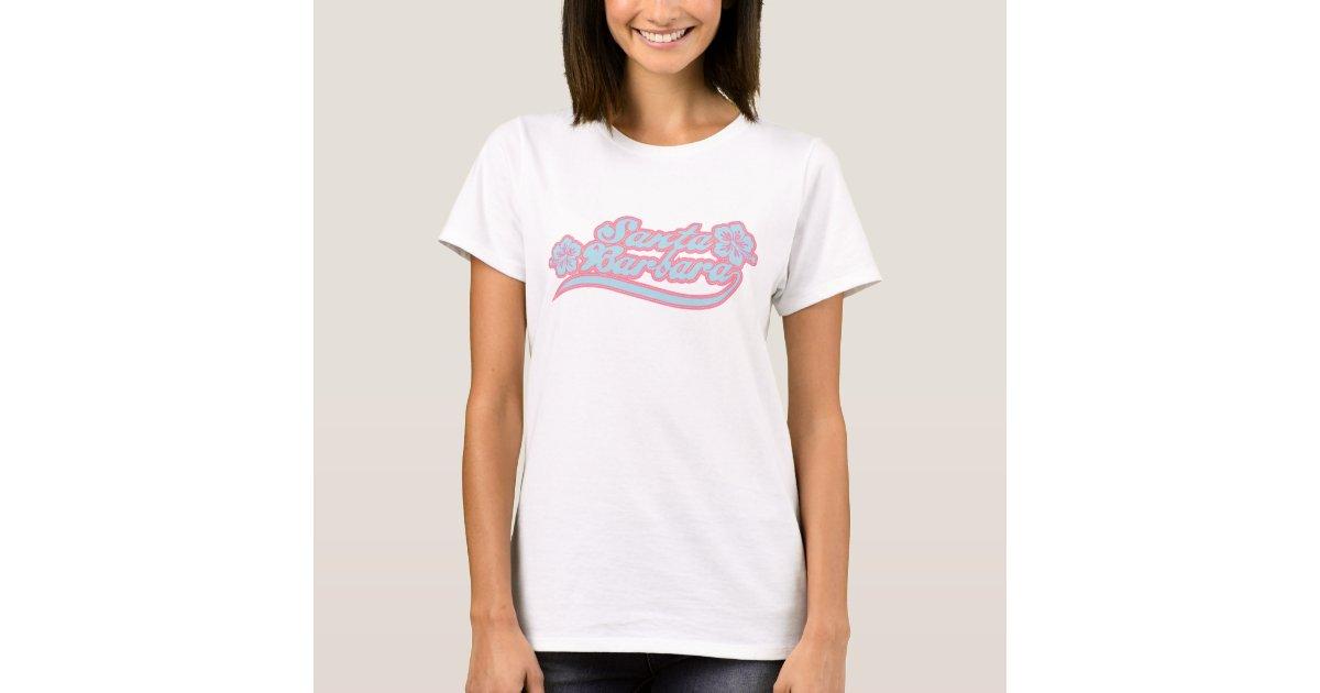 Santa barbara t shirt zazzle for T shirt printing santa barbara