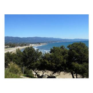 Santa Barbara toma una respiración Postal