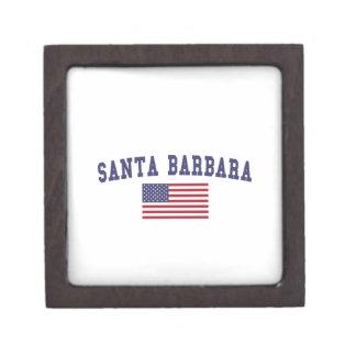 Santa Barbara US Flag Gift Box