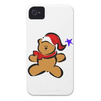 Santa Bear iPhone 4 Cases