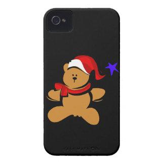 Santa Bear iPhone 4 Cover