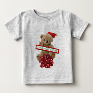 Santa Bear - teddy bear T shirt