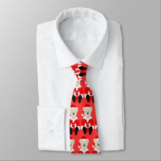 Santa Bear Tie