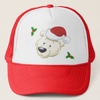 Santa Bear Trucker Hat